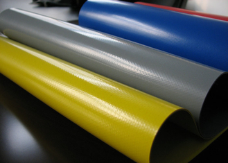 Hypalon Fabric Sheet , Industrial Neoprene Rubber Sheet