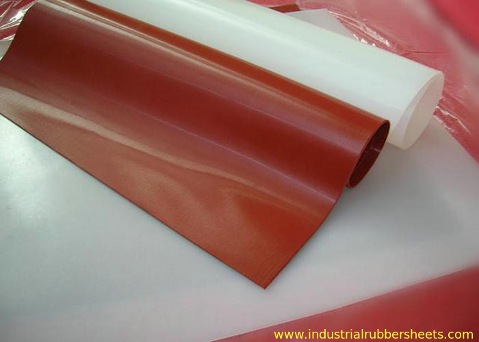 Translucent 100 Virgin Silicone Rubber Sheet Rolls Food