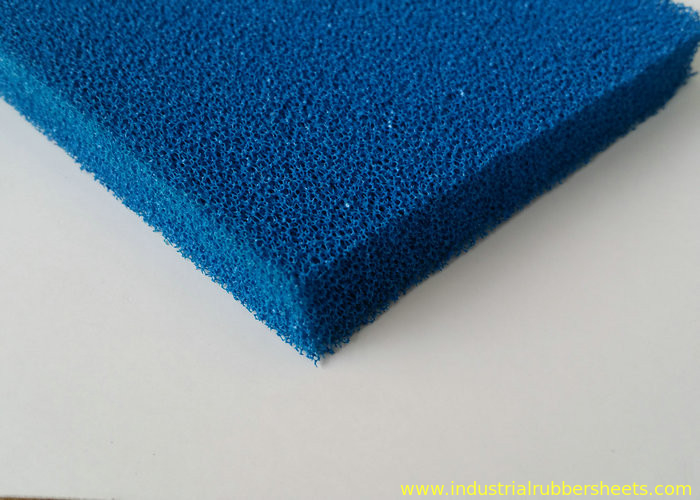 Good Resilience Smooth Open Cell Silicone Foam Rubber