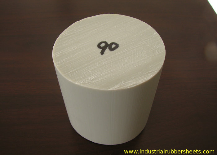 White Pp Nylon Threaded Rod For Industrial Seal Solid