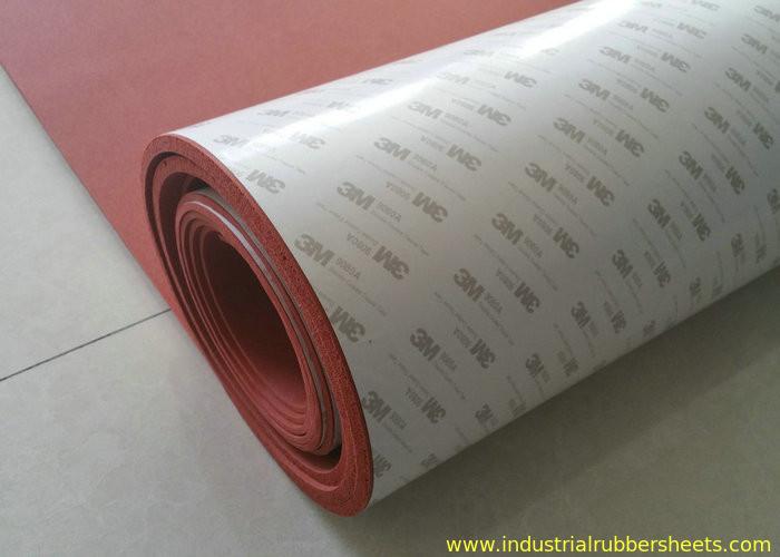 100 Elongation Silicone Foam Rubber Sheet 3m Adhesive