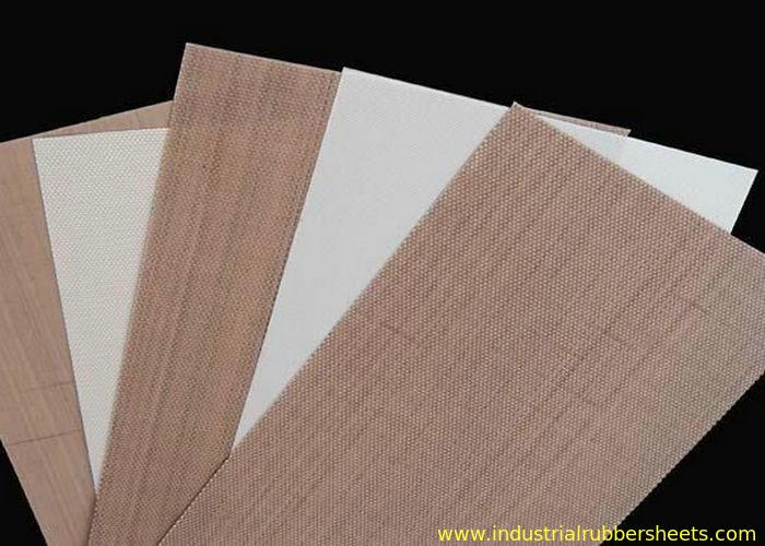 White Fiberglass Mesh : White ptfe coated fiberglass fabric teflon