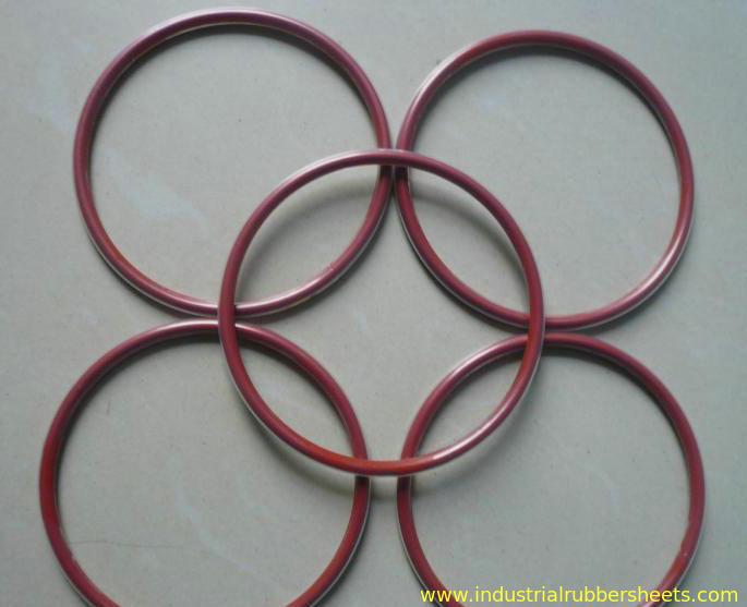 Transparent Teflon Or PTFE Encap Silicone Rubber Washers Standard ...