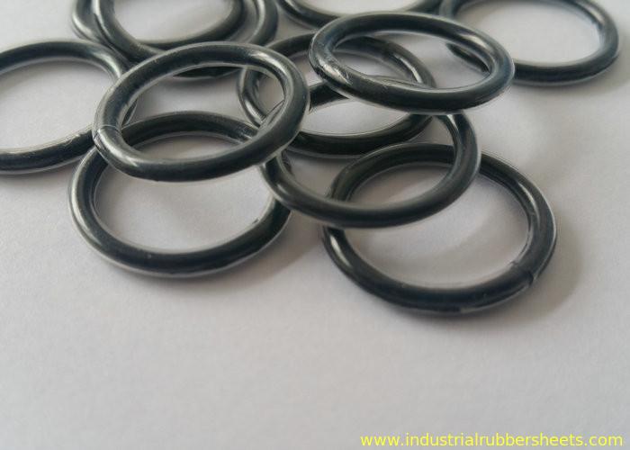Heat Resistant Teflon Encapsulated Viton O Rings Encap PTFE / Rubber ...