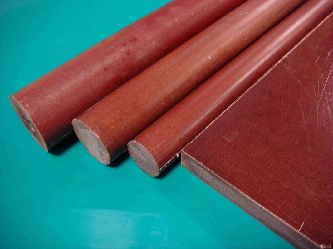 Bakelite Insulation Cotton Rod Brown Phenolic Rod 1 25 1