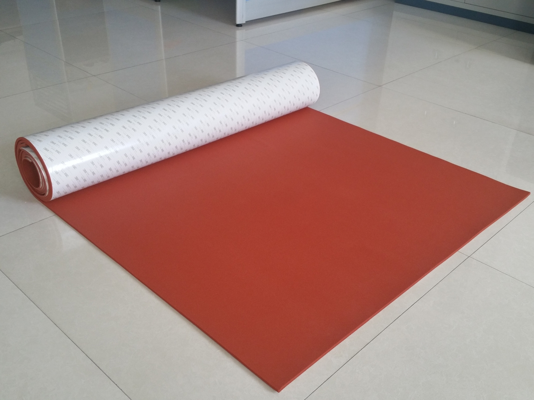 High Temperature Resistant Silicone Sponge Rubber Sheet