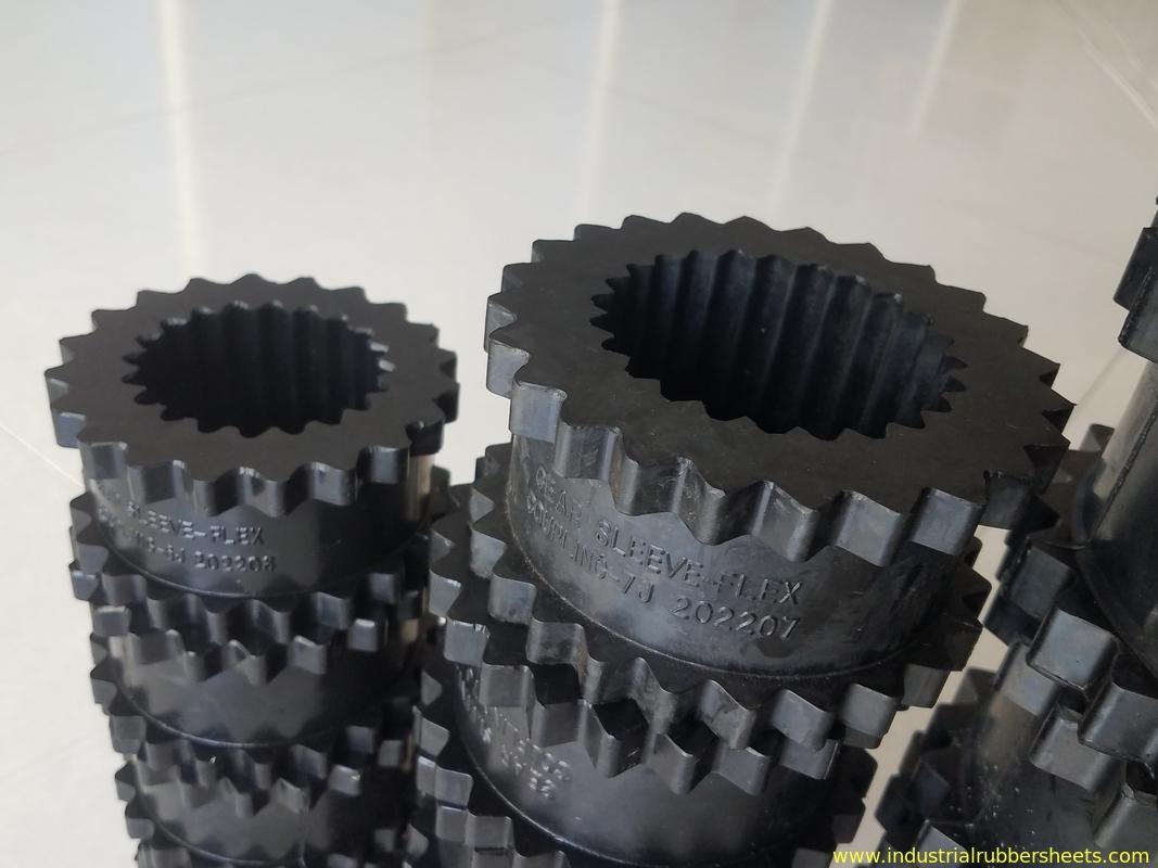 Black Color 3j 11j Gear Rubber Polyurethane Coupling For