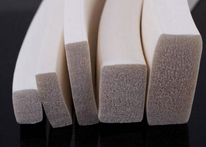 One Side Adhesive Close Cell Silicone Sponge Extrusion